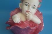 4. Младенец в розе (9см)