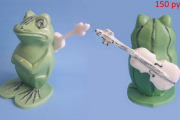 41.Лягушка с гитарой (9,5 см)